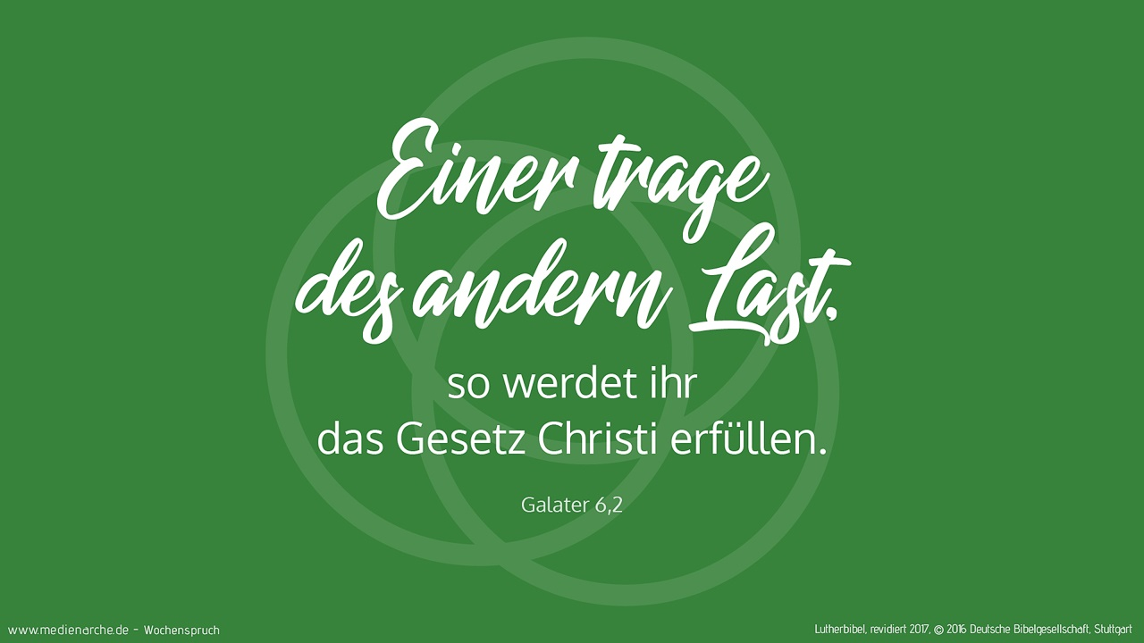 Galater 6 2