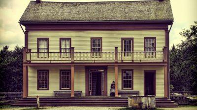 Ein amerikanisches Country-Haus