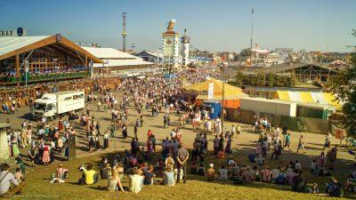 Oktoberfest-Panorama.